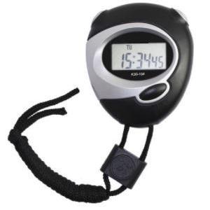 Calibração de cronometro
