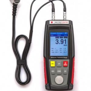 Calibração de medidor de espessura por ultrassom