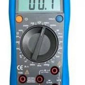 Calibração de multimetro digital