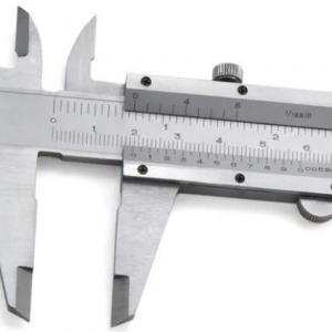 Calibração de paquimetro e micrometro