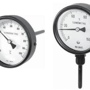 Calibração termometro bimetalico