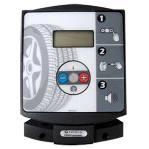 Calibrador de pneus digital de parede