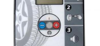 Aferição de calibrador de pneus