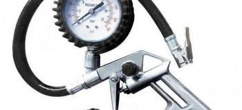 Calibração de calibrador de pneus