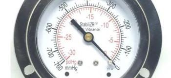 Calibração de vacuometro