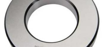Calibrador anel liso cilindrico